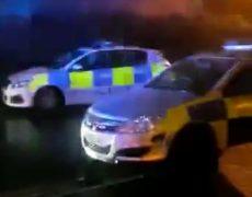 Police presence in Frenchwood Pic: Blog Preston