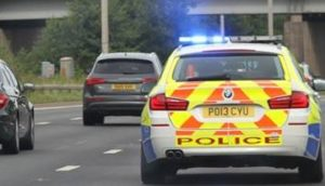 Police say they will be supporting Highways England throughout the protest Pic: Lancs Police