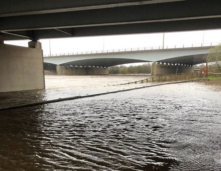 Where the M6 crosses the River Ribble Pic: Stephen Melling
