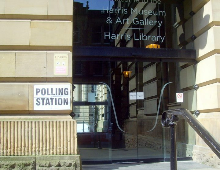 The Harris has been used as a polling station at previous elections Pic: Tony Worrall