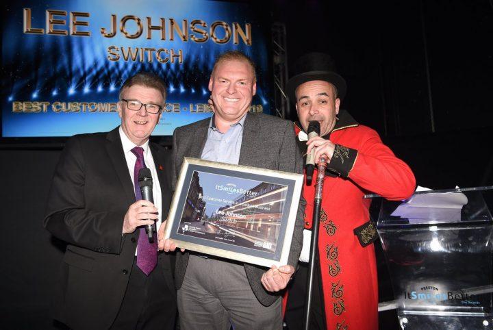 Lee Johnson from Switch nightclub