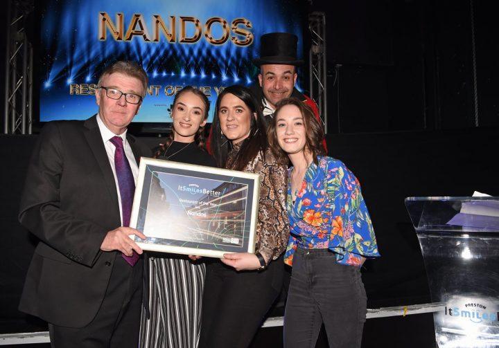 The Nando's Preston team