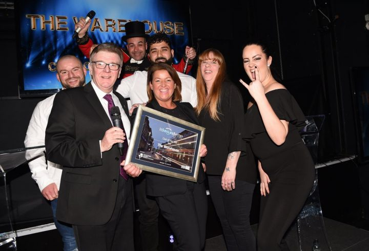Club of the Year winner The Warehouse