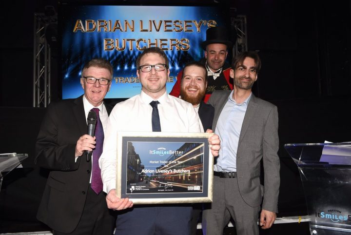 Adrian Livesey's butchers team