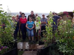 Some of the volunteers from Let's Grow Preston
