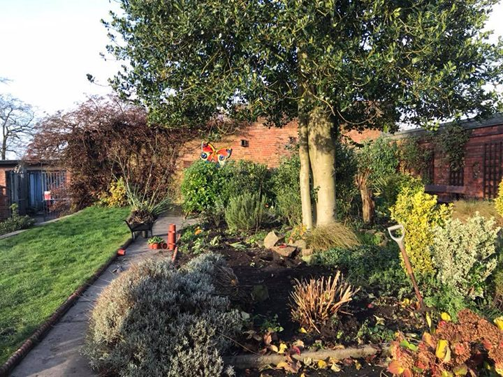 One of Let's Grow Preston's gardens