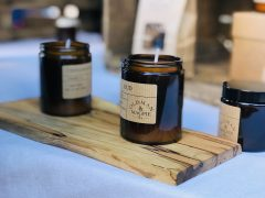 Everything from scented candles to other locally made products are to be on display