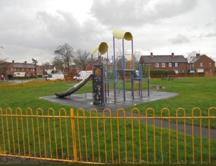 The play area back open Pic: Preston City Council