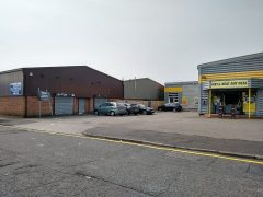 The empty unit, pictured at the back, is due to become a mini-supermarket Pic: Blog Preston