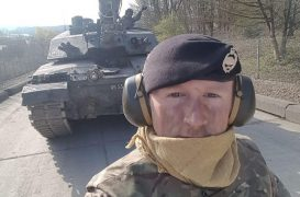 Corporal Darren Neilson died when a tank exploded during training in 2017