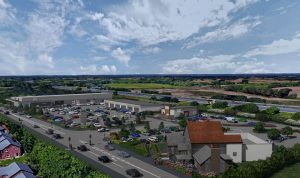 How the new mini retail park in Eastway is due to look