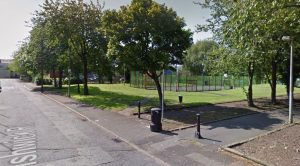 The multi-use games area in Fishwick Road Pic: Google