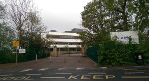 Entrance to Fulwood Academy in Black Bull Lane Pic: Google