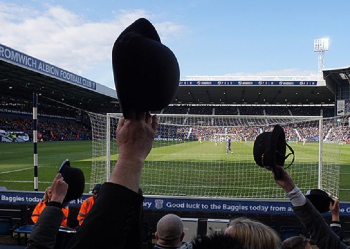 Hats off at Gentry Day, in which PNE fans wear bowler hats to an away game Pic: Kate Rosindale