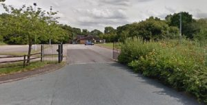 Entrance to the former Ingol Village Golf Club Pic: Google