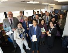 Launch of the Korea Corner at the University of Central Lancashire