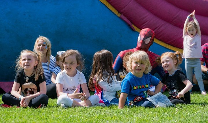 The Lancashire Festival has lots of activities and entertainment for children