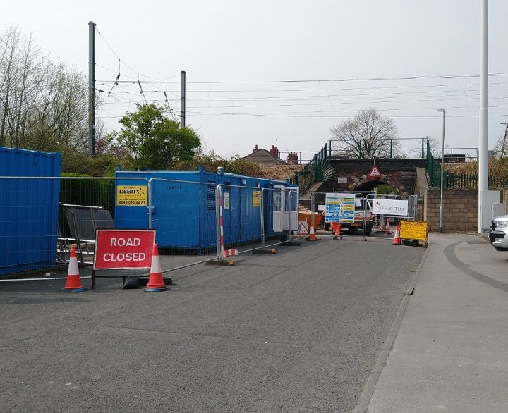 Closure signs have been amended with a May closure date Pic: Blog Preston