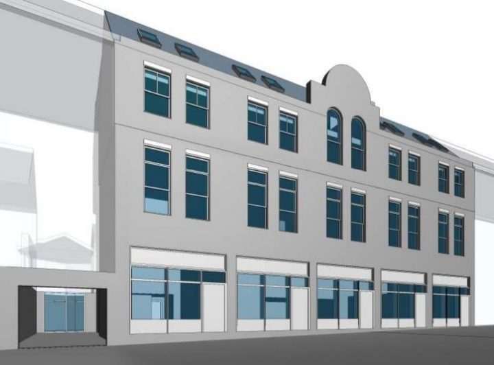 How the building in Market Street is due to look