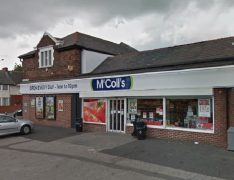 The McColls store in Harewood Road, off Skeffington Road Pic: Google