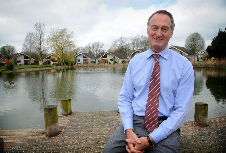 Paul Harrison, chief exec of Ribby Hall