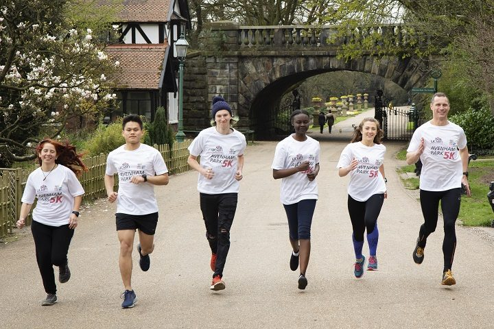 Put through their paces for the Avenham Park 5k