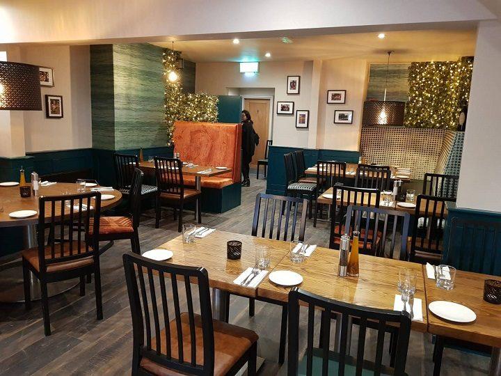 Dining area in Salvatore's in Penwortham