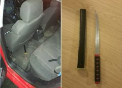 Officers found this when searching the vehicle Pic: Preston Police