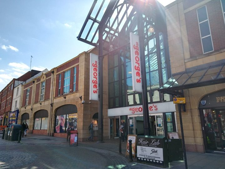 The Friargate entrance to the shopping centre Pic: Blog Preston