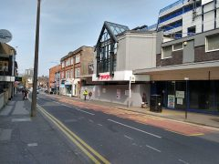 Lune Street entrance to St George's Shopping Centre is seeing major work Pic: Blog Preston