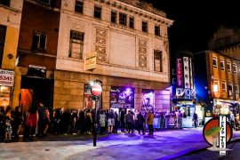 The queue for Tokyo Jo's during Easter weekend Pic: Tokyo Jo's Memories