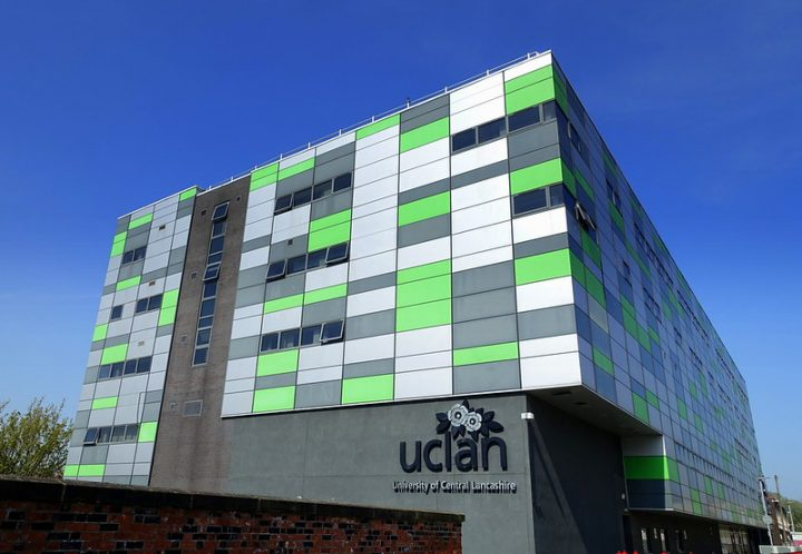 The Media Factory at the University of Central Lancashire campus Pic: Tony Worrall