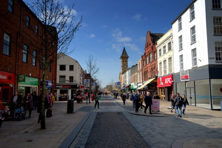 The two streets off Fishergate will see new taxi ranks Pic: Tony Worrall