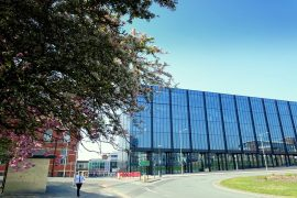 UCLan's new engineering centre on the Adelphi roundabout Pic: Tony Worrall