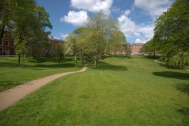 A sunny day in Winckley Square Pic: Tony Worrall