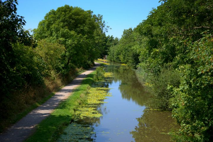 A sunny day on the Lancaster Canal at Preston Pic: Tony Worrall