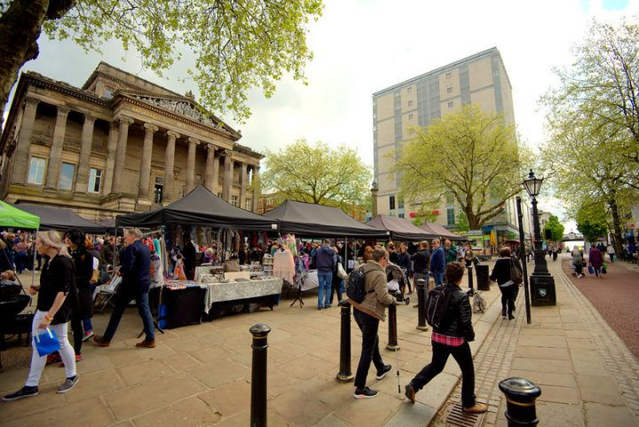 The Makers Market on the Flag Market in May Pic: Tony Worrall