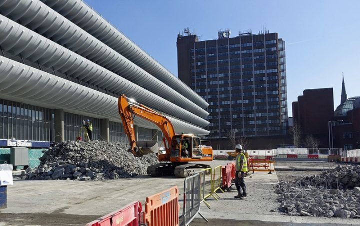 Work continues on the western side of the Bus Station Pic: 47441436852