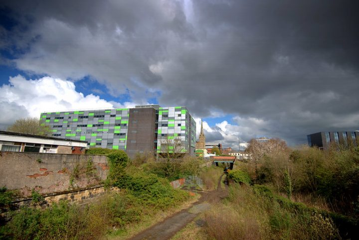 UCLan's Media Factory within the Preston city centre campus Pic: Tony Worrall