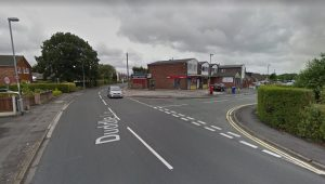 The junction of Duddle Lane and Severn Drive Pic: Google