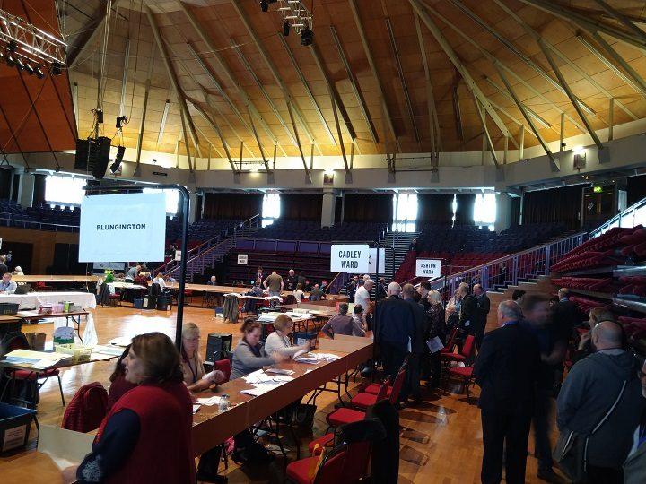 Verification of votes at the 2019 local elections in Preston Pic: Blog Preston
