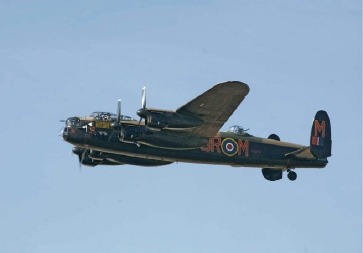 A fly-past by the Lancaster Bomber set to be the star attraction
