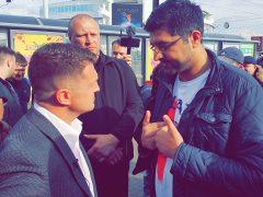 Tommy Robinson and Nadeem Ashfaq