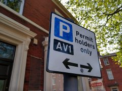 A permit holders only parking sign in Bairstow Street, Preston Pic: Blog Preston