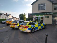 Three police vehicles just off Garstang Road Pic: Blog Preston