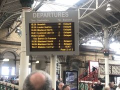 Delayed services at Preston Station Pic: Steve Saul