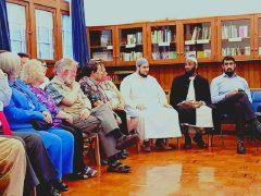 Attendees at a 2018 Ramadan Interfaith Dinner
