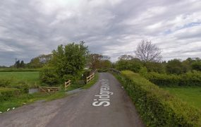 Sidgreaves Lane is closed over the canal Pic: Google