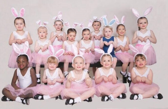 A recent picture of Sparkle Dance group in rehearsals Pic: Sparkle Dance