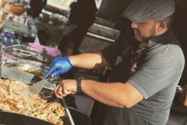 Street food will be a big part of the Makers Market